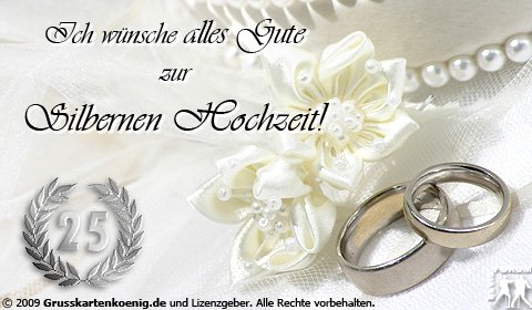 Die Besten Wünsche Zur Silberhochzeit An An Evening Prayer Und